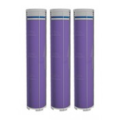 Ionic Power Filter De-chlorinating lavender Gel Refill Cartridges